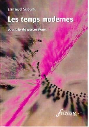 Emmanuel Séjourné - Les Temps Modernes - Partition - di-arezzo.fr
