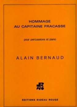 Alain Bernaud - Tribute to Captain Fracasse - Sheet Music - di-arezzo.co.uk