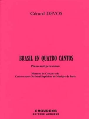 Gérard Devos - Brasil In Quatro Cantos - Sheet Music - di-arezzo.co.uk