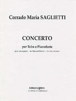 Concerto - Corrado Maria Saglietti - Partition - laflutedepan.com