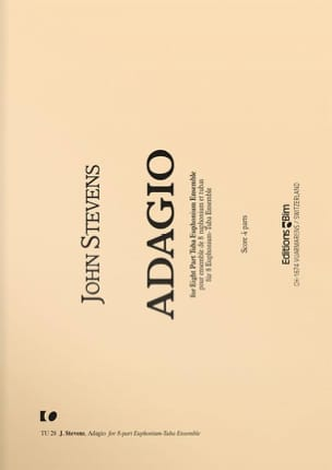 Adagio - John Stevens - Partition - Tuba - laflutedepan.com