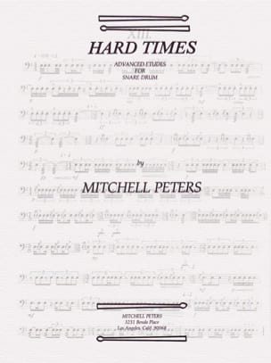 Mitchell Peters - Hard Times - Sheet Music - di-arezzo.com