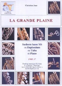 Christian Jous - La Grande Plaine - Partition - di-arezzo.fr