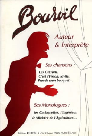 Bourvil - Author - Performer - His Songs / Monologues - Sheet Music - di-arezzo.com