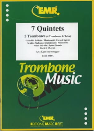 7 Quintettes - Partition - Trombone - laflutedepan.com