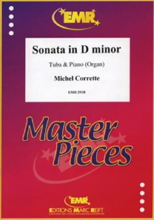 Michel Corrette - Sonata in D minor - Partition - di-arezzo.fr