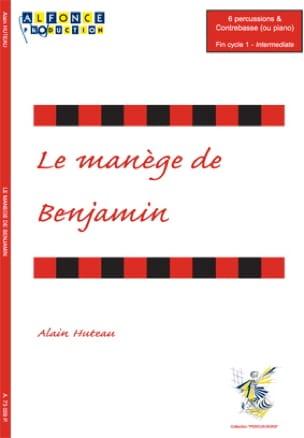 Le Manège de Benjamin Alain Huteau Partition laflutedepan