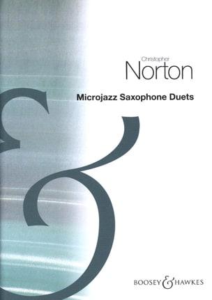 Christopher Norton - Duetos de saxofón MicroJazz - Partition - di-arezzo.es