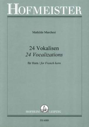 24 Vokalisen Mathilde Marchesi Partition Cor - laflutedepan