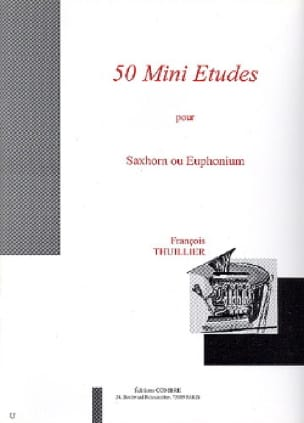 François Thuillier - 50 Mini Studies - Sheet Music - di-arezzo.co.uk