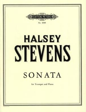 Halsey Stevens - Sonata - Partition - di-arezzo.fr