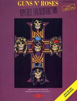 Guns N' Roses - Appetite For Destruction - Sheet Music - di-arezzo.com
