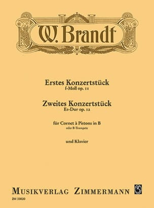 Willy Brandt - KonzertstückOpus 11とOpus 12 - 楽譜 - di-arezzo.jp