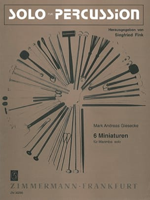 6 Miniaturen - Mark Andreas Giesecke - Partition - laflutedepan.com