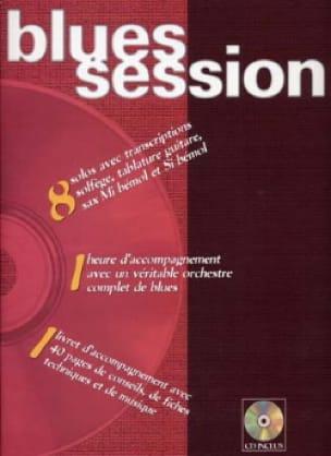 Blues Session - Philippe Ganter - Partition - laflutedepan.com