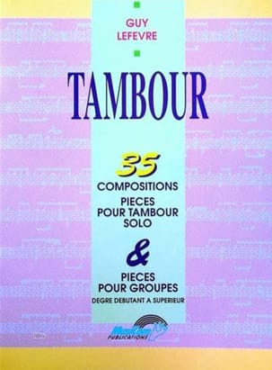 Guy Lefèvre - Tambour - 35 Compositions - Partition - di-arezzo.fr
