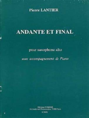 Andante et Final Pierre Lantier Partition Saxophone - laflutedepan