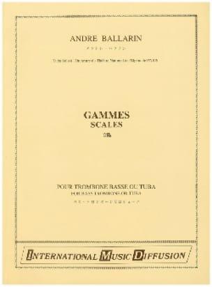 André Ballarin - ranges - Sheet Music - di-arezzo.com