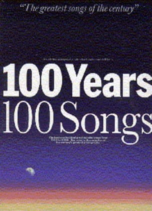 - 100 Years 100 Songs - Partition - di-arezzo.fr