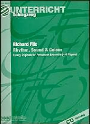 Richard Filz - Rhythm, Sound & Colour - Partition - di-arezzo.fr
