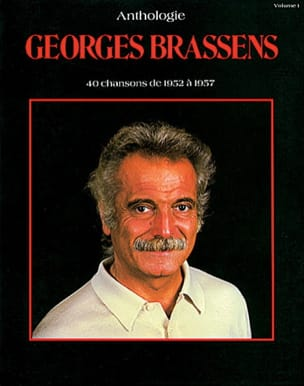 Anthologie Volume 1 1952-1957 Georges Brassens Partition laflutedepan