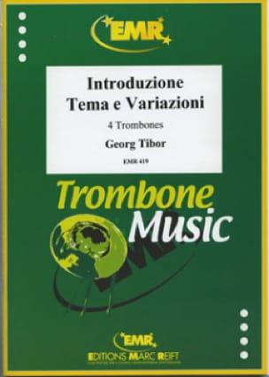 Introduzion Tema E Variazioni - Georg Tibor - laflutedepan.com