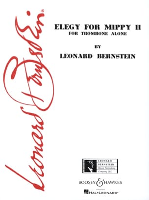 Leonard Bernstein - Elegy For Mippy 2 - Sheet Music - di-arezzo.com