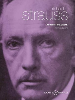 Andante Opus Posth. Richard Strauss Partition Cor - laflutedepan