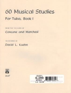 60 Musical Studies for Tuba Volume 1 - laflutedepan.com