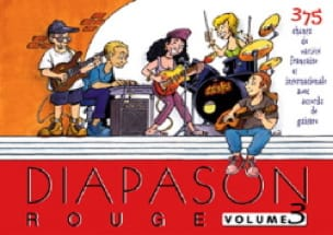 Diapason Rouge - Volume 3 - Partition - di-arezzo.fr