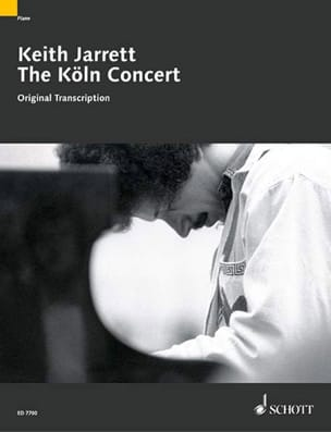 Keith Jarrett - The Köln Konzert - Partition - di-arezzo.fr