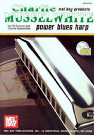 Charlie Musselwhite - Power Blues Harp - Partition - di-arezzo.fr