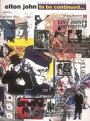Elton John - To Be Continued - Sheet Music - di-arezzo.com
