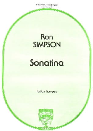 Ron Simpson - Sonatina - Partition - di-arezzo.fr