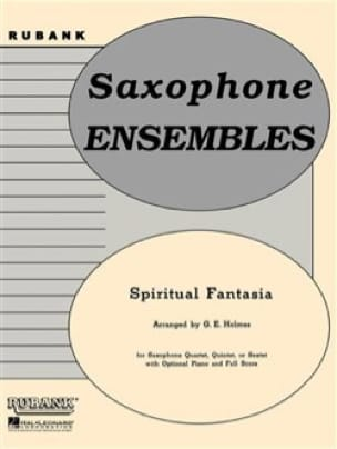 G.E. Holmes - Spiritual Fantasia - Partition - di-arezzo.fr