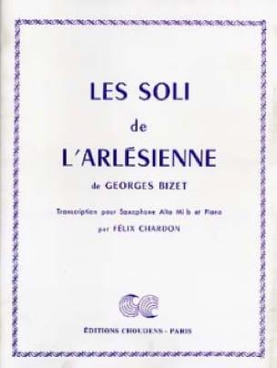 Georges Bizet - Les Soli de L'Arlésienne - Partition - di-arezzo.fr