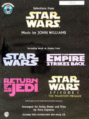 John Williams - Star Wars - Arrangé pour solos duets and trios - Partition - di-arezzo.fr