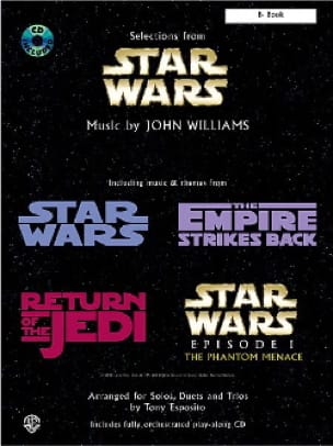 John Williams - Star Wars - Arranged for solos duets and trios - Sheet Music - di-arezzo.com