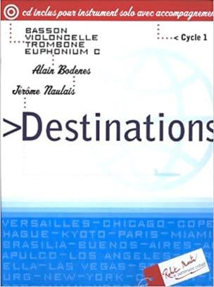 Destinations Bodenes Alain / Naulais Jérôme Partition laflutedepan