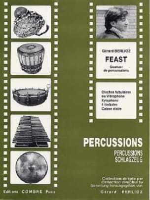 Feast BERLIOZ Partition Ensemble de percussions - laflutedepan