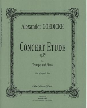 Alexander Goedicke - Concert study opus 49 - Sheet Music - di-arezzo.co.uk