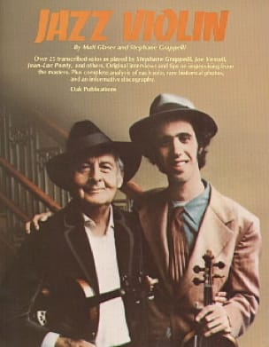 Glaser Matt / Grappelli Stephane - Violin Jazz - Sheet Music - di-arezzo.co.uk