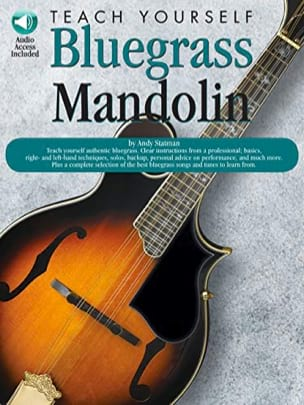 Teach Yourself Bluegrass Mandolin Andy Statman Partition laflutedepan