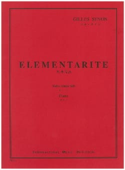 Gilles Senon - elementarity - Sheet Music - di-arezzo.co.uk