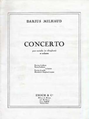Darius Milhaud - Concerto - Partition - di-arezzo.fr