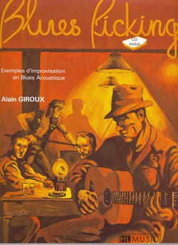 Alain Giroux - Blues picking - Partition - di-arezzo.fr