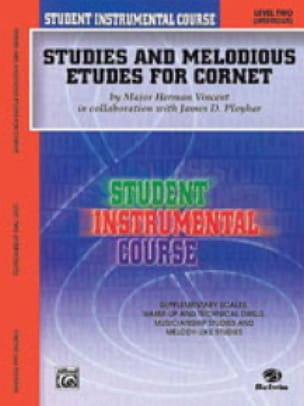 Vincent M.H / Ployhar J. - Studies & melodious etudes for cornet volume 2 - Partition - di-arezzo.fr
