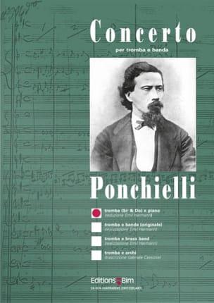Concerto - Almicare Ponchielli - Partition - laflutedepan.com