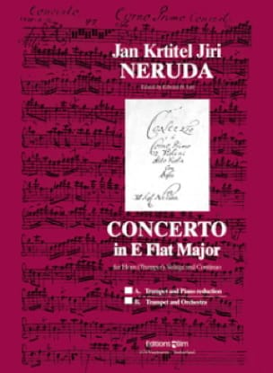 J.K.J. Neruda - Concerto In E Flat Major - Partition - di-arezzo.fr