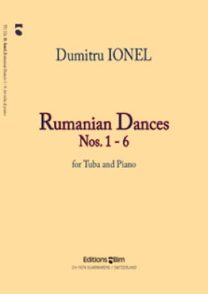 Dumitru Ionel - Rumanian Dances # 1-6 - Sheet Music - di-arezzo.co.uk